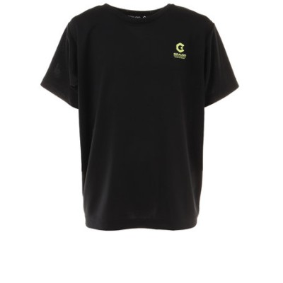 洗っても機能が続く UV 吸汗速乾 ドライプラス ジュニア 半袖メッシュTシャツ 865GM1CD6687 BLK