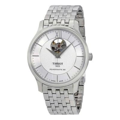 腕時計 ティソット メンズ Silver Tissot Tradition Automatic Men's Watch - Choose color