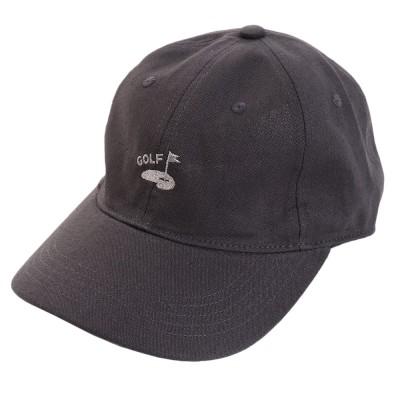 ACPGトレッキングリネン刺繍キャップ GREEN 897PA9ST1743 CHCチャコールグレー