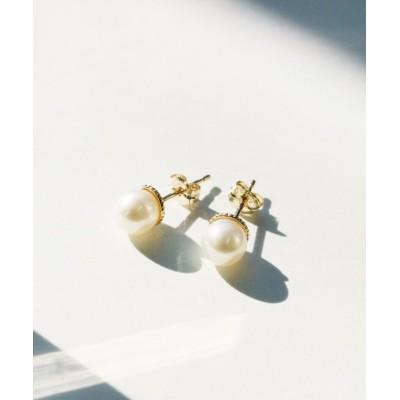 (jupiter/ジュピター)pure pearlピアス/レディース ホワイト