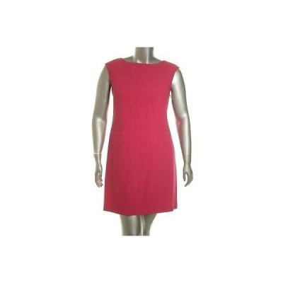 アメリカンリビング ドレス ワンピース フォーマル American Living レディース ドレス Sheath 14 Berry Polyester Regular LAFO