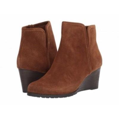 Rockport ロックポート レディース 女性用 シューズ 靴 ブーツ アンクル ショートブーツ Hollis Vcut Bootie Tan【送料無料】