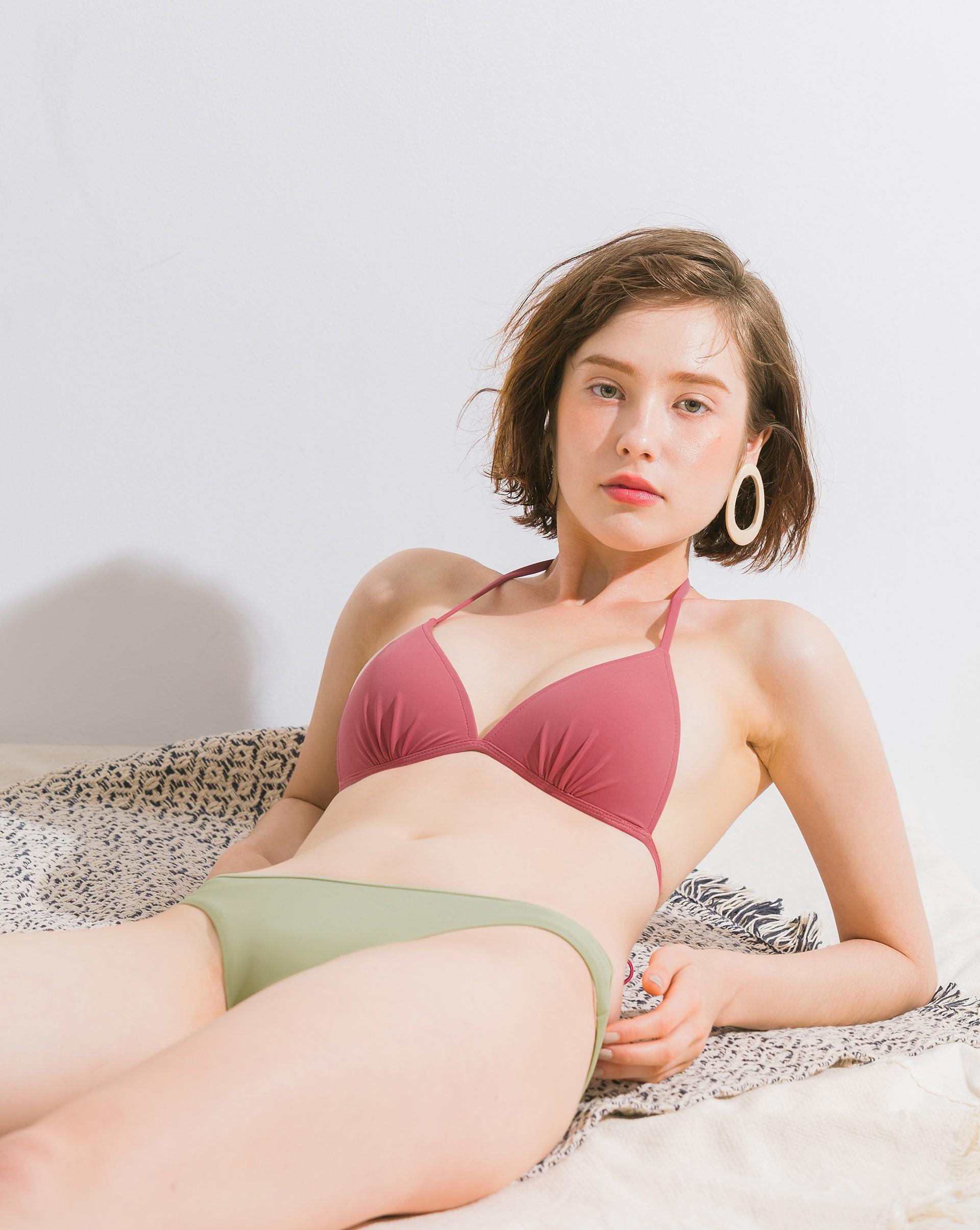 簡約綁帶bikini-Meierq