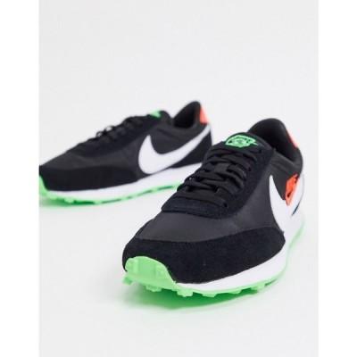 ナイキ Nike レディース スニーカー シューズ・靴 Daybreak trainers in black and green