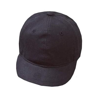 WHITE FANG(ホワイトファング) 帽子 無地 キャップ おしゃれ シンプル かっこいい つば短 メンズ (01:ブラック サイズ)