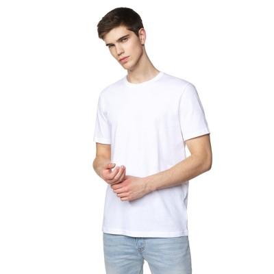 (BENETTON (mens)/ベネトン メンズ)無地半袖Tシャツ・カットソー/メンズ ホワイト