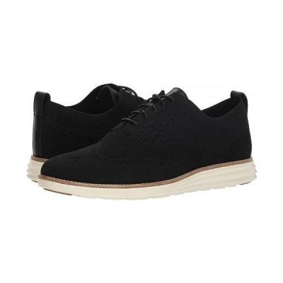Cole Haan コールハーン メンズ 男性用 シューズ 靴 オックスフォード 紳士靴 通勤靴 Original Grand Stitchlite Wingtip Oxford - Black/Ivory