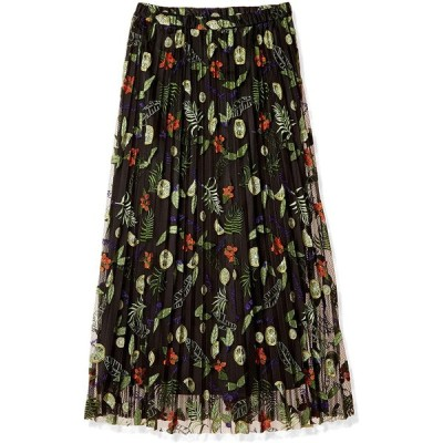 グレースコンチネンタル-フルーツ刺繍プリーツスカート-レディース-0320221113-日本サイズ7