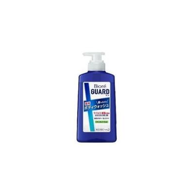 ビオレガード 髪も洗える薬用ボディウォッシュ ナチュラルハーブの香り ポンプ 420ml 花王 返品種別A