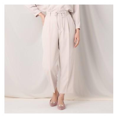 【クチュール ブローチ/Couture brooch】 ダブルクロスストレートパンツ