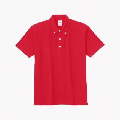 トムス チームTシャツ ユニフォーム 00224-010-LL-SBN 5.3オンス スタンダードBDポロシャツ レッド LL 00224-010-LL <2019AWCON>
