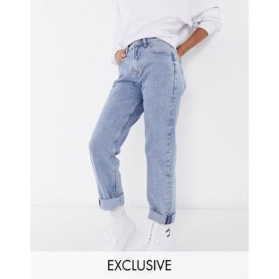 トミー ヒルフィガー レディース デニムパンツ ボトムス Tommy Jeans ultra high rise straight jeans in light wash