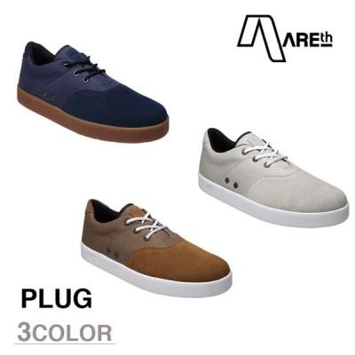 AREth スニーカー 靴 PLUG アース プラグ 2016モデル 各3色 23.5-29.0cm areth