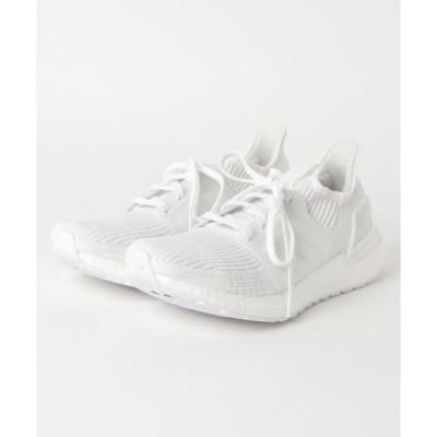 スニーカー adidas アディダス ultraboost 19 ウルトラブースト G54008  WHT/WHT