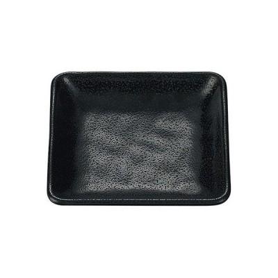 国際化工 正角皿 黒 D256 B 1セット(10ヶ)(直送品)