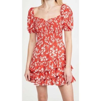 ユミキム Yumi Kim レディース ワンピース ワンピース・ドレス So Romantic Dress Windswept Red