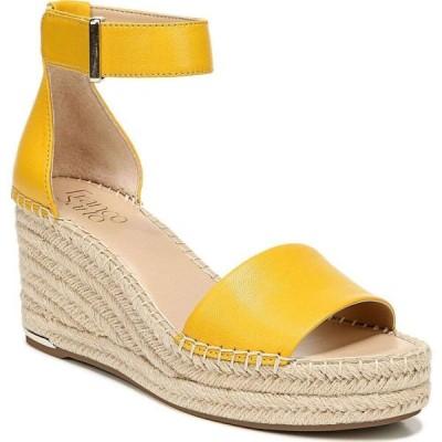 フランコサルト Franco Sarto レディース サンダル・ミュール ウェッジソール シューズ・靴 CleWedge Sandals Summer Yellow