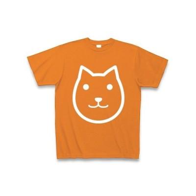 クター Tシャツ Pure Color Print (オレンジ)
