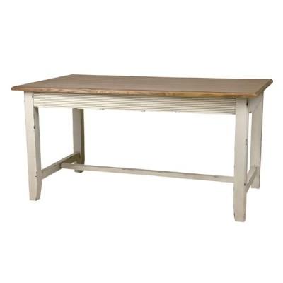 セレクト家具 北欧 ダイニングテーブル 机 ホワイト アンティーク フレンチ blossom AZCOL017