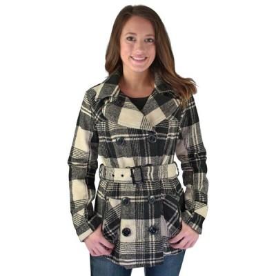 コート ジャケット 海外セレクション Urban Republic Juniors ダブル Breasted Fit  Flare ウインター Peaコート コート ジャケット