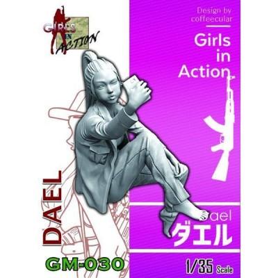 トリファクトリー 1/ 35 ガールズインアクションシリーズ ダエル(GM-030)プラモデル 返品種別B