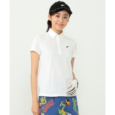 ポロシャツ BEAMS GOLF ORANGE LABEL / ボタンダウン 鹿の子 ポロシャツ