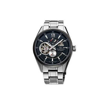 [オリエント時計] 腕時計 オリエントスター セミスケルトン 機械式 自動巻(手巻付) ブラック WZ0271DK シルバー