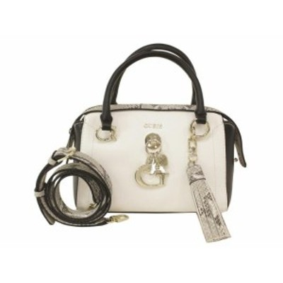 GUESS ゲス ファッション バッグ Guess Womens Gracelyn White Multi Satchel Handbag
