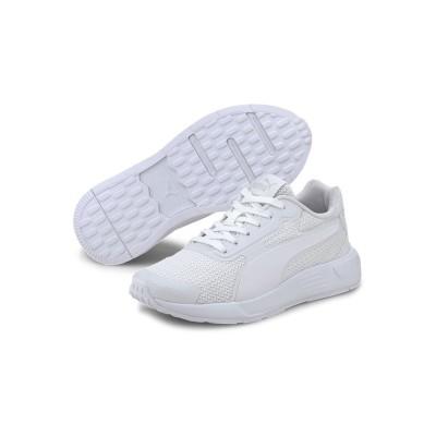 (PUMA/プーマ)キッズ プーマ テイパー JR スニーカー 22-25cm/ WHITE-WHITE-GRAYVIOLET
