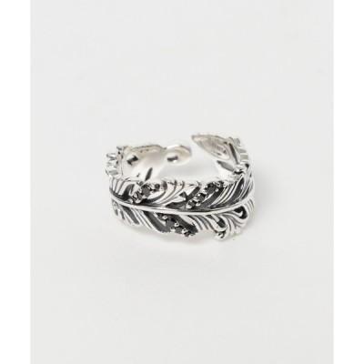 指輪 SAINTS(セインツ)/ブラックジルコニアフェザーリング