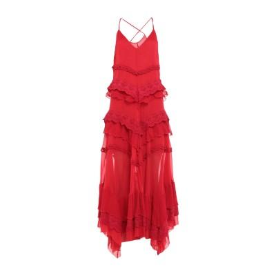 アニヤバイ ANIYE BY ロングワンピース&ドレス レッド S 100% レーヨン コットン ロングワンピース&ドレス