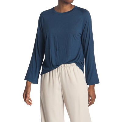 ヴィンス レディース Tシャツ トップス Long Sleeve Raglan Shirt TERRACE