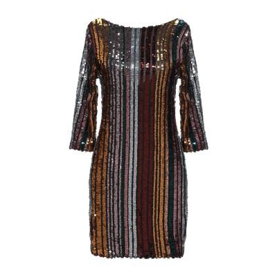 ノリータ NOLITA ミニワンピース&ドレス ブラウン M ポリエステル 95% / ポリウレタン 5% / レーヨン ミニワンピース&ドレス