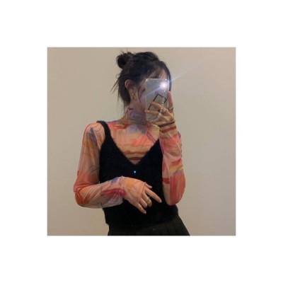 【送料無料】風 セット 女 レトロ 年 ハイカラーTシャツ ボトムシャツ ニ | 364331_A64471-0766167