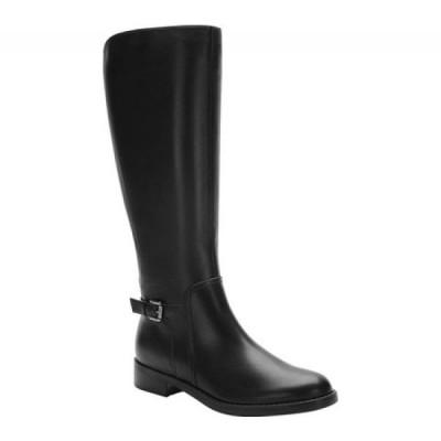 ブロンド Blondo レディース ブーツ ロングブーツ シューズ・靴 Evie Waterproof Knee High Boot Black Leather