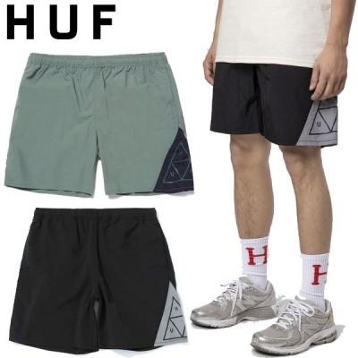 ハフ HUF TT HYBRID SHORT トライアングル ハイブリッド ショーツ ハーフパンツ ショートパンツ 海 ロゴ メンズ ストリート スケート ブランド