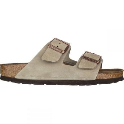 ビルケンシュトック Birkenstock レディース サンダル・ミュール シューズ・靴 Arizona Soft Footbed Suede Narrow Sandal Taupe Suede