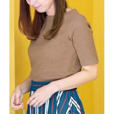 tシャツ Tシャツ 【NOT汗染み!】テレコリブカットソー