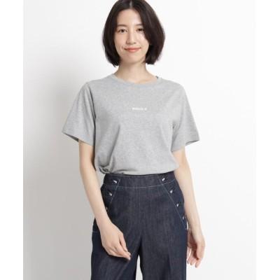 【デッサン】 汗染み軽減天竺Tシャツ レディース グレー 00(XS) Dessin