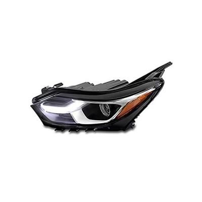 ZMAUTOPARTS LED Tube Projector Headlight Headlamp Lamp Black Driver Side Co