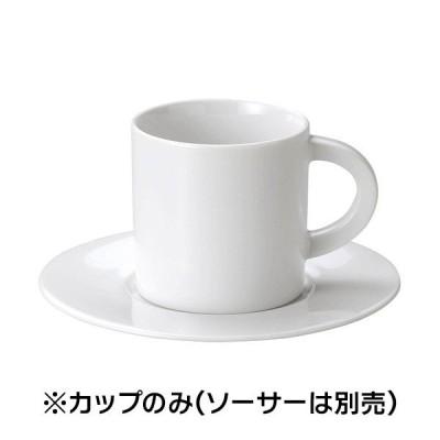 (業務用・コーヒーカップ)コーヒー碗- 碗皿シリーズ - D型コーヒー碗(ログ)(入数:5)