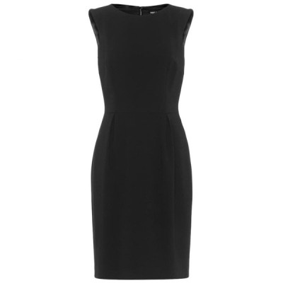 ドルチェ&ガッバーナ Dolce & Gabbana レディース ワンピース ノースリーブ ワンピース・ドレス sleeveless stretch-crepe dress Black