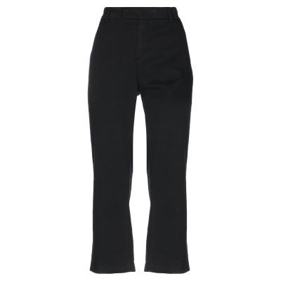ロイ ロジャース ROŸ ROGER'S パンツ ブラック 27 コットン 87% / ポリエステル 10% / ポリウレタン 3% パンツ