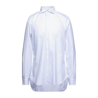 BARBA Napoli シャツ ブルー 44 コットン 100% シャツ
