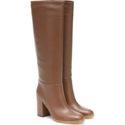 ジャンヴィト ロッシ Gianvito Rossi レディース ブーツ シューズ・靴 melissa 85 leather knee-high boots Texas