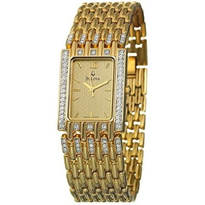 ブローバ Bulova 腕時計 時計 Bulova Crystal Men's Watch 98A57