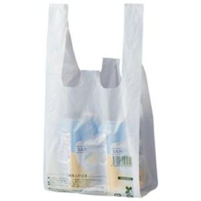 まとめ買い 業務用 スマートサプライ レジ袋(乳白) 8号 RB8W-B25 1パック(100枚) 【×30セット】  日用消耗品【同梱不可】【代引不可】[▲][TP]