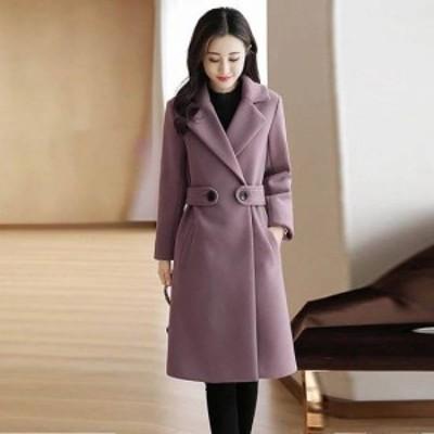ロングコート チェスターコート アウター ロング レディース 冬 冬物 新作 大きいサイズ ゆったり きれいめ ロングコート