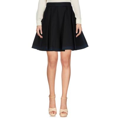 エムエスジーエム MSGM ひざ丈スカート ブラック 44 コットン 100% ひざ丈スカート