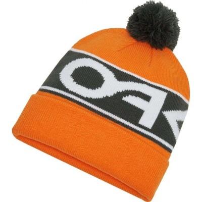 オークリー Oakley メンズ ニット ビーニー 帽子 factory cuff beanie Bold Orange